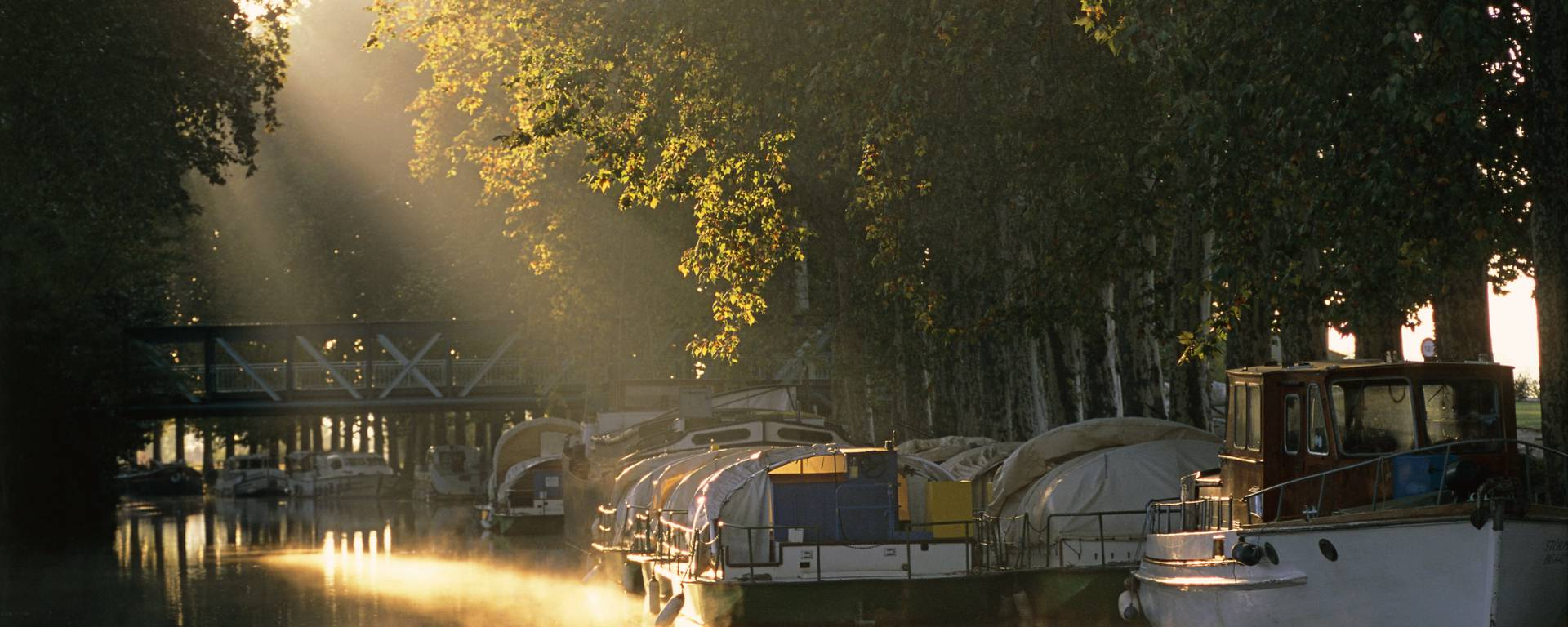 The beautiful light of the canal ©L.Micola
