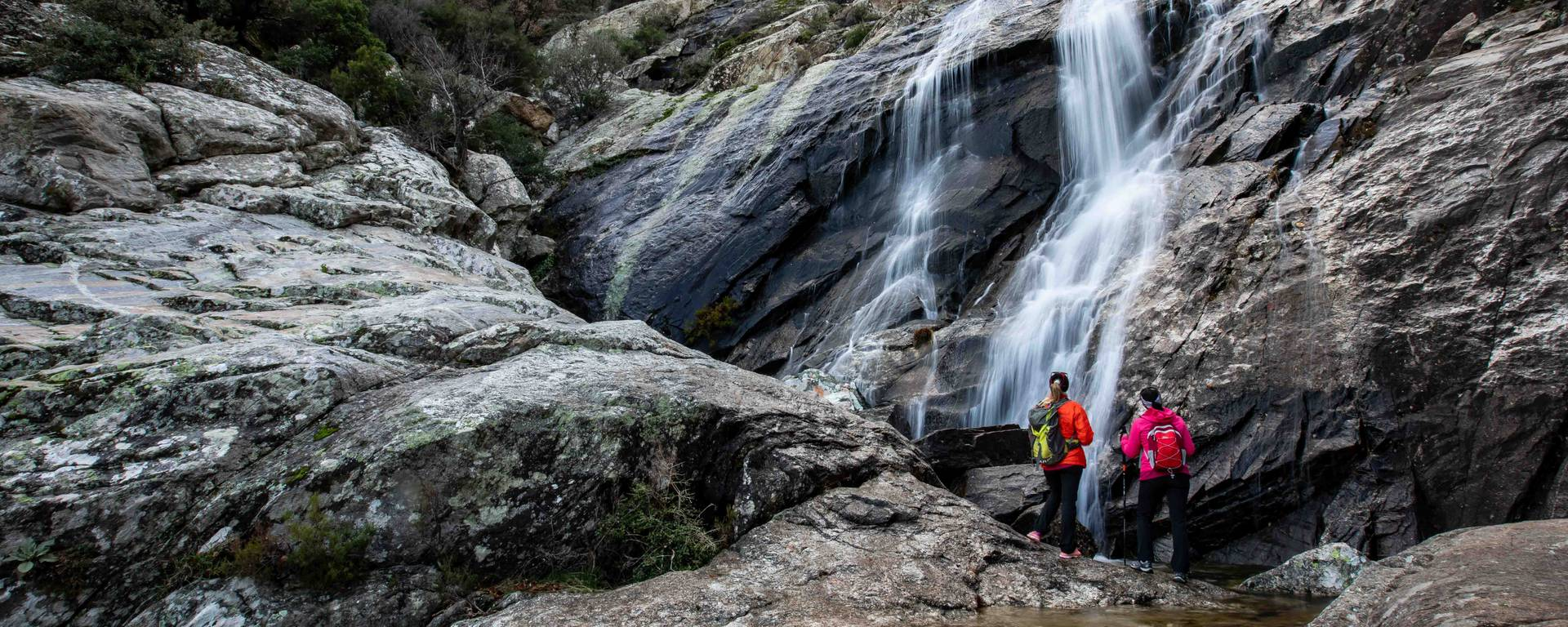 The Albine waterfall