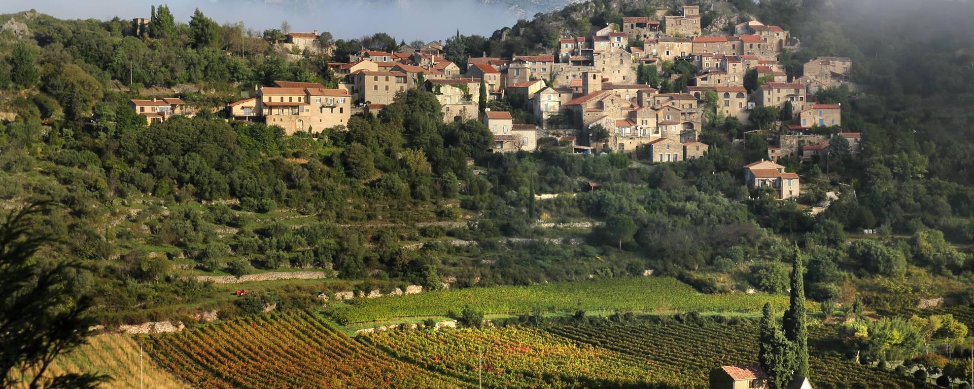Vieussan, on the Caroux mountain