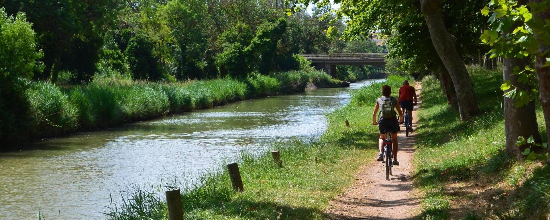 Vélo Canal du midi