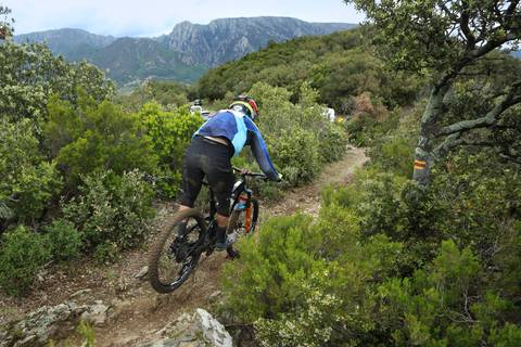 Mountain Bike in Caroux Mountains ©G.Souche