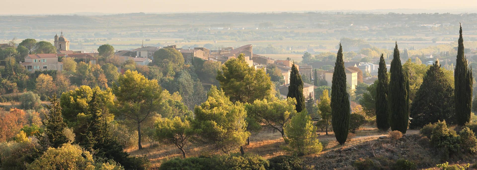 """Landscapes of the """"Pays d'Art et d'Histoire"""" in Haut Languedoc et Vignobles"""