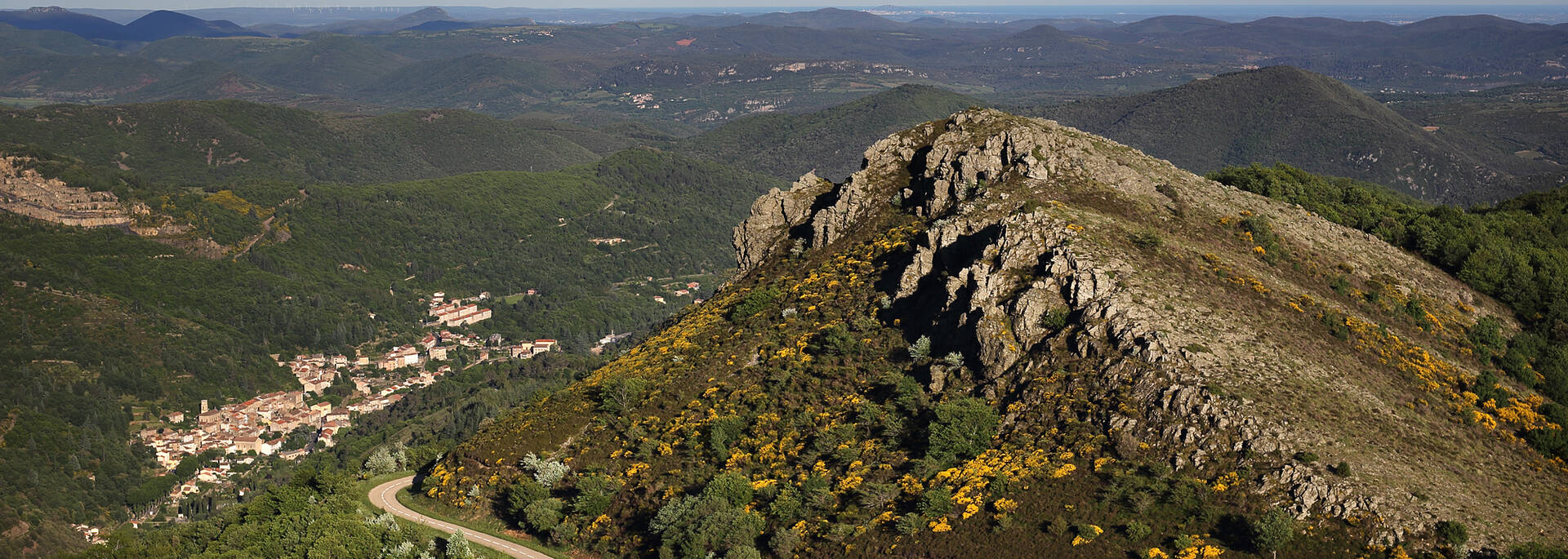 Mining basin in the Pays d'Art et d'Histoire Haut Languedoc et Vignobles