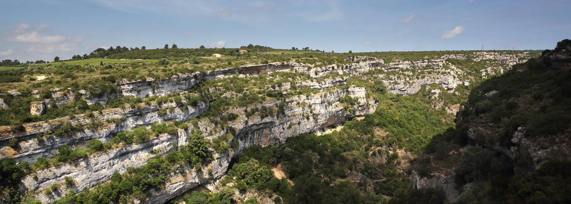 """Gorges of the """"Pays d'Art et d'Histoire"""" in the  Haut Languedoc et Vignobles"""