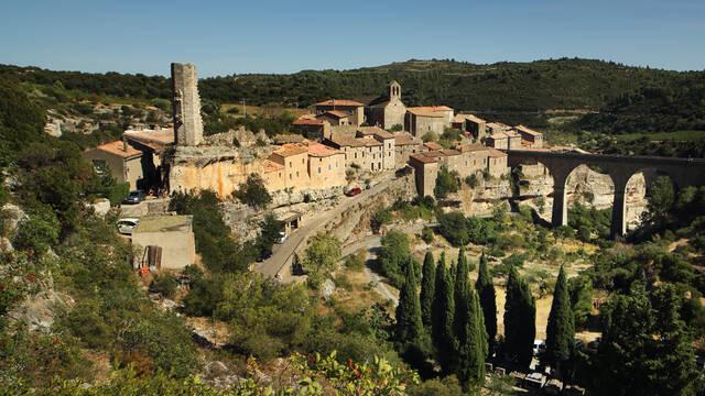 Mediaeval village in the Pays d'Art et d'Histoire Haut Languedoc et Vignobles