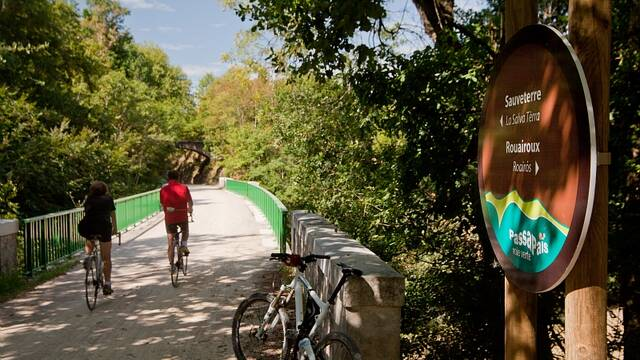 cycling on the greenway
