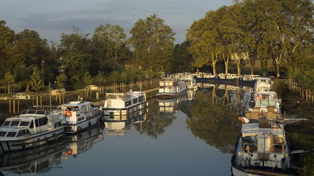 The Canal du Midi © G.Souche
