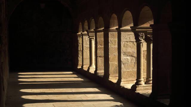 Cloister, Languedoc, France