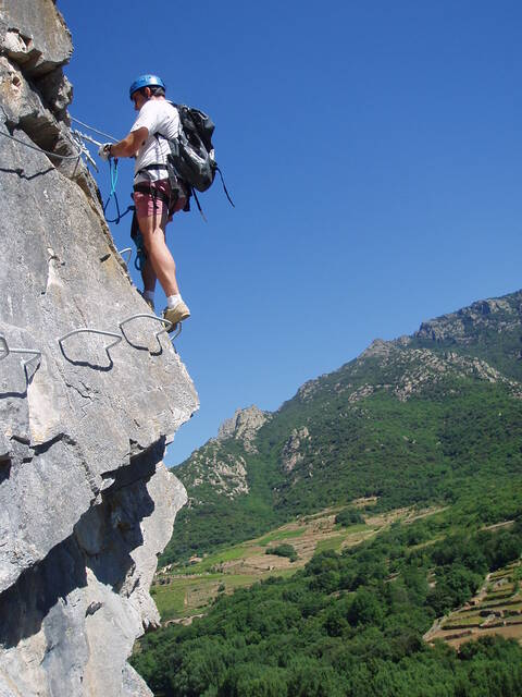 Via Ferrata at Tarrasac