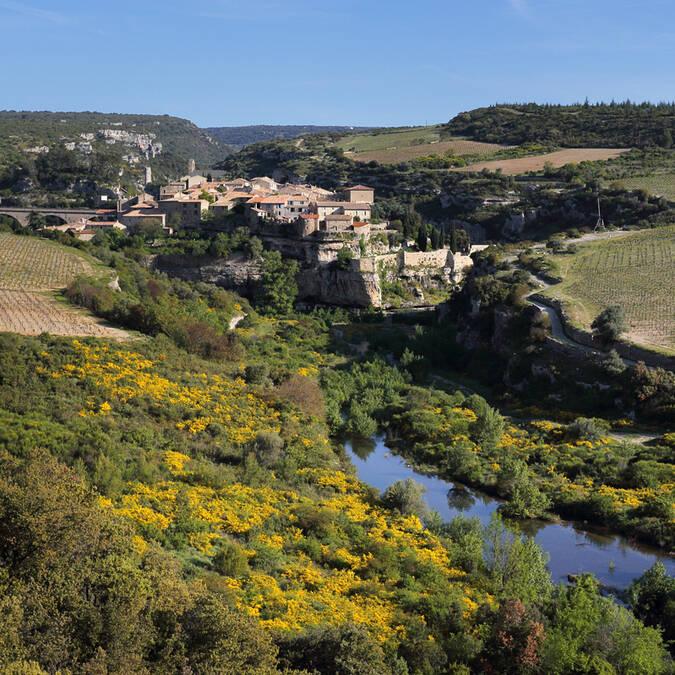River in the Pays d'Art et d'Histoire Haut Languedoc et Vignobles